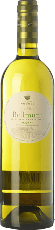 15,95 € Free Shipping | White wine Mas d'en Gil Bellmunt Blanc D.O.Ca. Priorat Catalonia Spain Grenache White, Viognier Bottle 75 cl