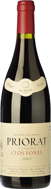 62,95 € Envío gratis | Vino tinto Mas d'en Gil Clos Fontà Crianza D.O.Ca. Priorat Cataluña España Garnacha, Cabernet Sauvignon, Cariñena, Garnacha Peluda Botella 75 cl