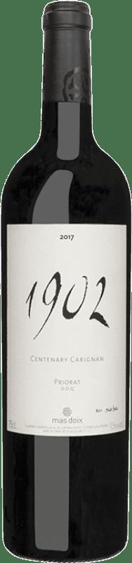 389,95 € Envoi gratuit | Vin rouge Mas Doix 1902 Carinyena Centenaria Crianza D.O.Ca. Priorat Catalogne Espagne Carignan Bouteille 75 cl
