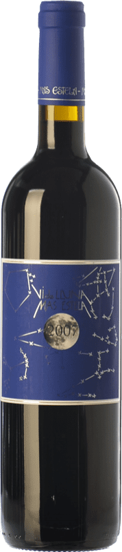 23,95 € Free Shipping | Red wine Mas Estela Vi de Lluna Crianza D.O. Empordà Catalonia Spain Syrah, Grenache, Carignan Bottle 75 cl