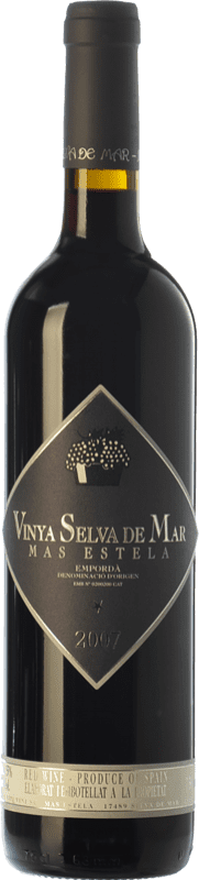 23,95 € Free Shipping | Red wine Mas Estela Vinya Selva de Mar Crianza D.O. Empordà Catalonia Spain Syrah, Grenache, Carignan Bottle 75 cl