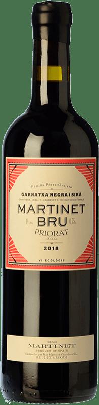 192,95 € Free Shipping | Red wine Mas Martinet Bru Crianza D.O.Ca. Priorat Catalonia Spain Syrah, Grenache Special Bottle 5 L