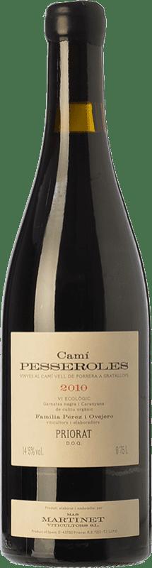 93,95 € Free Shipping | Red wine Mas Martinet Camí Pesseroles Crianza D.O.Ca. Priorat Catalonia Spain Grenache, Carignan Bottle 75 cl