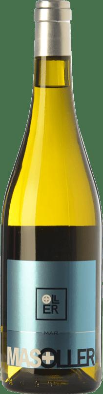 11,95 € 免费送货 | 白酒 Mas Oller Mar Blanc D.O. Empordà 加泰罗尼亚 西班牙 Malvasía, Picapoll 瓶子 75 cl