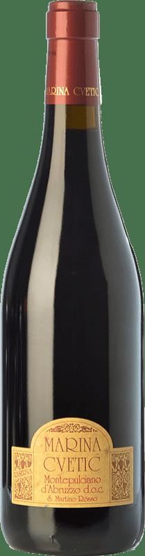 29,95 € 免费送货 | 红酒 Masciarelli Marina Cvetic D.O.C. Montepulciano d'Abruzzo 阿布鲁佐 意大利 Montepulciano 瓶子 75 cl