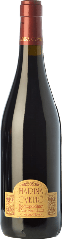 29,95 € Free Shipping | Red wine Masciarelli Marina Cvetic D.O.C. Montepulciano d'Abruzzo Abruzzo Italy Montepulciano Bottle 75 cl