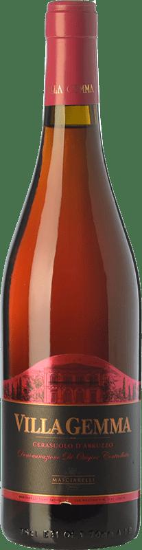17,95 € 免费送货 | 玫瑰酒 Masciarelli Villa Gemma D.O.C. Cerasuolo d'Abruzzo 阿布鲁佐 意大利 Montepulciano 瓶子 75 cl