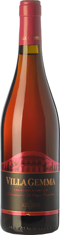 17,95 € Envío gratis | Vino rosado Masciarelli Villa Gemma D.O.C. Cerasuolo d'Abruzzo Abruzzo Italia Montepulciano Botella 75 cl