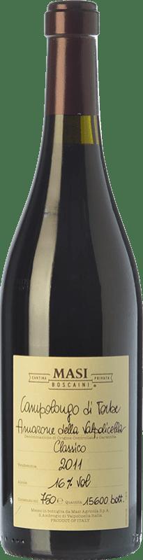 124,95 € | Red wine Masi Campolongo di Torbe D.O.C.G. Amarone della Valpolicella Veneto Italy Corvina, Rondinella, Molinara Bottle 75 cl