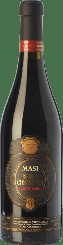 69,95 € | Red wine Masi Costasera Riserva Reserva D.O.C.G. Amarone della Valpolicella Veneto Italy Corvina, Rondinella, Molinara, Oseleta Bottle 75 cl