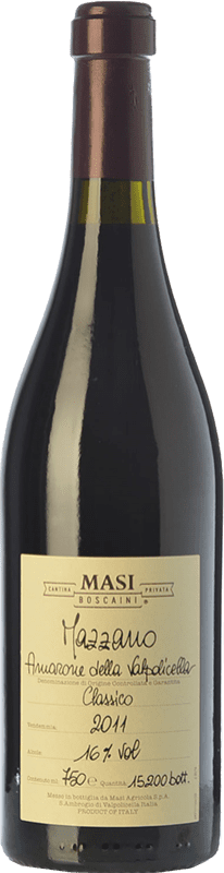 129,95 € | Red wine Masi Mazzano D.O.C.G. Amarone della Valpolicella Veneto Italy Corvina, Rondinella, Molinara Bottle 75 cl