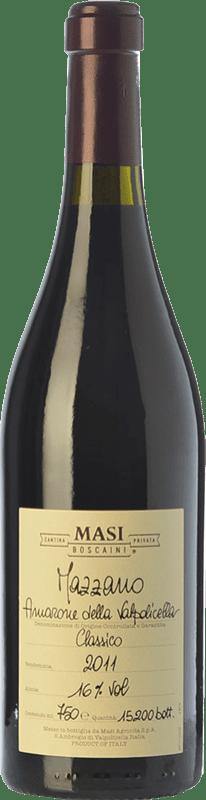 129,95 € Envío gratis | Vino tinto Masi Mazzano D.O.C.G. Amarone della Valpolicella Veneto Italia Corvina, Rondinella, Molinara Botella 75 cl