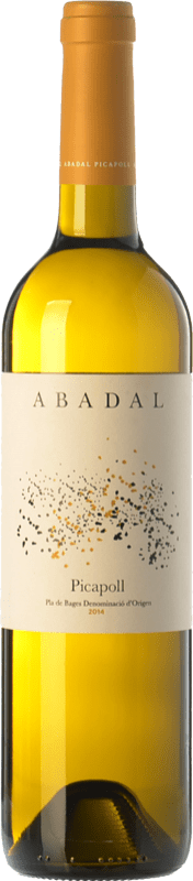 11,95 € Envoi gratuit | Vin blanc Masies d'Avinyó Abadal D.O. Pla de Bages Catalogne Espagne Picapoll Bouteille 75 cl