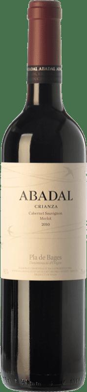 12,95 € 免费送货 | 红酒 Masies d'Avinyó Abadal Crianza D.O. Pla de Bages 加泰罗尼亚 西班牙 Merlot, Cabernet Sauvignon 瓶子 75 cl