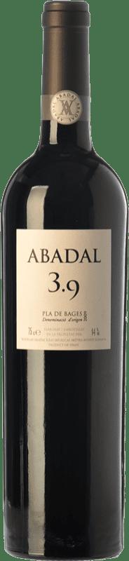 28,95 € Envío gratis | Vino tinto Masies d'Avinyó Abadal 3.9 Crianza D.O. Pla de Bages Cataluña España Syrah, Cabernet Sauvignon Botella 75 cl