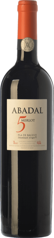 19,95 € Free Shipping | Red wine Masies d'Avinyó Abadal 5 Crianza D.O. Pla de Bages Catalonia Spain Merlot Bottle 75 cl