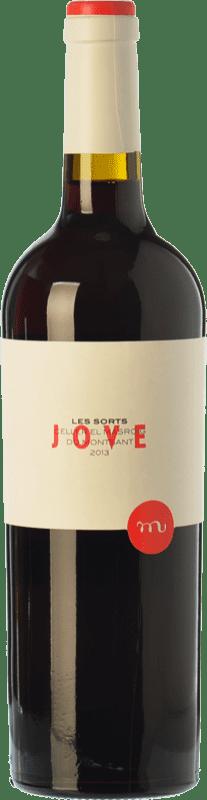 7,95 € Envío gratis | Vino tinto Masroig Les Sorts Jove Joven D.O. Montsant Cataluña España Syrah, Garnacha, Cariñena Botella 75 cl