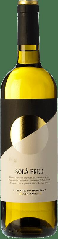9,95 € Envío gratis | Vino blanco Masroig Solà Fred Blanc Joven D.O. Montsant Cataluña España Garnacha Blanca, Macabeo Botella 75 cl