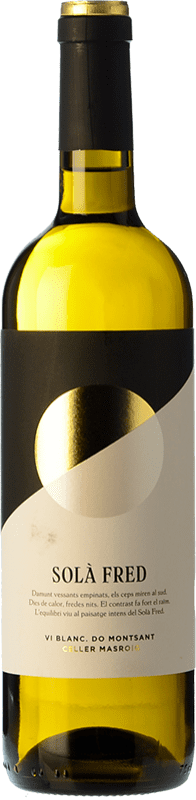 9,95 € | White wine Masroig Solà Fred Blanc Joven D.O. Montsant Catalonia Spain Grenache White, Macabeo Bottle 75 cl