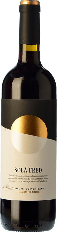 9,95 € Free Shipping | Red wine Masroig Solà Fred Negre Joven D.O. Montsant Catalonia Spain Samsó Bottle 75 cl