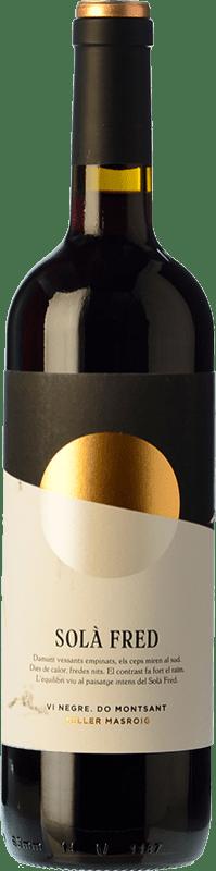 9,95 € Envío gratis | Vino tinto Masroig Solà Fred Negre Joven D.O. Montsant Cataluña España Samsó Botella 75 cl