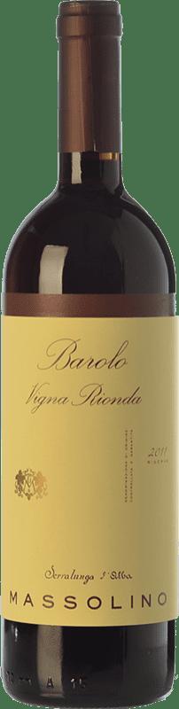 98,95 € Free Shipping | Red wine Massolino Riserva Vigna Rionda Reserva D.O.C.G. Barolo Piemonte Italy Nebbiolo Bottle 75 cl