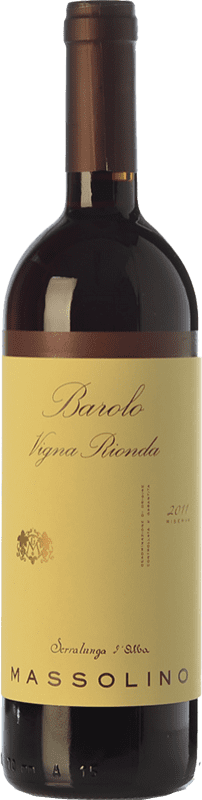 98,95 € Envoi gratuit | Vin rouge Massolino Riserva Vigna Rionda Reserva D.O.C.G. Barolo Piémont Italie Nebbiolo Bouteille 75 cl