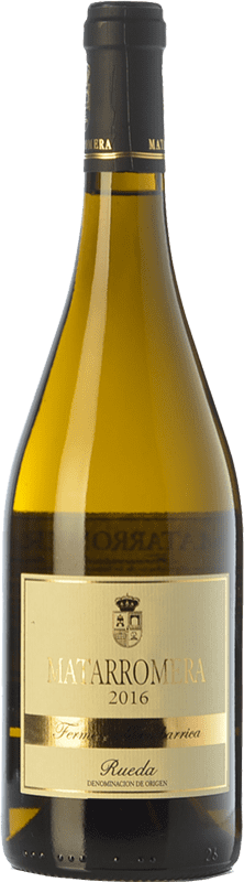 32,95 € Envoi gratuit | Vin blanc Matarromera Fermentado en Barrica Crianza D.O. Rueda Castille et Leon Espagne Verdejo Bouteille 75 cl