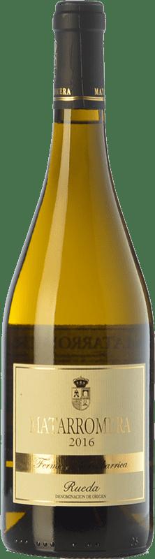 32,95 € Envío gratis | Vino blanco Matarromera Fermentado en Barrica Crianza D.O. Rueda Castilla y León España Verdejo Botella 75 cl