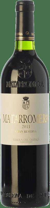 104,95 € Envoi gratuit | Vin rouge Matarromera Gran Reserva D.O. Ribera del Duero Castille et Leon Espagne Tempranillo Bouteille 75 cl