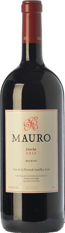 65,95 € | Vin rouge Mauro Crianza I.G.P. Vino de la Tierra de Castilla y León Castille et Leon Espagne Tempranillo, Syrah Bouteille Magnum 1,5 L