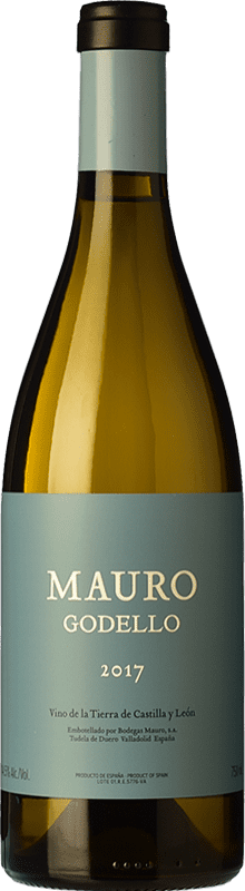42,95 € 免费送货   白酒 Mauro Crianza I.G.P. Vino de la Tierra de Castilla y León 卡斯蒂利亚莱昂 西班牙 Godello 瓶子 75 cl