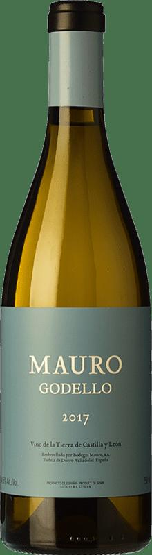 42,95 € Envío gratis | Vino blanco Mauro Crianza I.G.P. Vino de la Tierra de Castilla y León Castilla y León España Godello Botella 75 cl