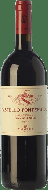 37,95 € Free Shipping | Red wine Mazzei Fonterutoli Gran Selezione D.O.C.G. Chianti Classico Tuscany Italy Sangiovese, Malvasia Black, Colorino Bottle 75 cl