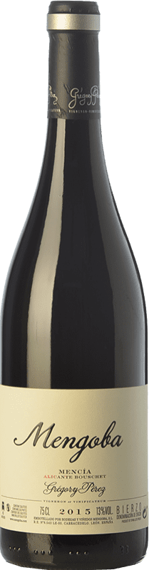 19,95 € Envío gratis | Vino tinto Mengoba Mencía Alicante Bouschet Crianza D.O. Bierzo Castilla y León España Mencía, Garnacha Tintorera Botella 75 cl