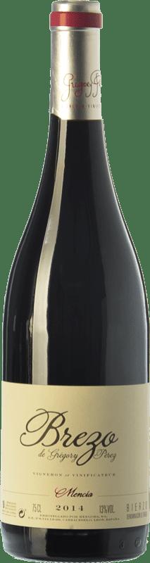 9,95 € 免费送货 | 红酒 Mengoba Brezo Joven D.O. Bierzo 卡斯蒂利亚莱昂 西班牙 Mencía 瓶子 75 cl