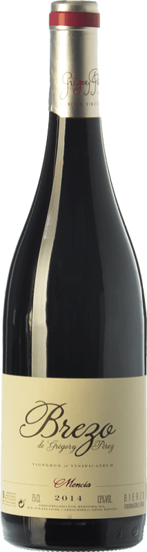 9,95 € Envío gratis | Vino tinto Mengoba Brezo Joven D.O. Bierzo Castilla y León España Mencía Botella 75 cl
