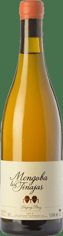 52,95 € 免费送货 | 白酒 Mengoba Las Tinajas D.O. Bierzo 卡斯蒂利亚莱昂 西班牙 Godello 瓶子 75 cl