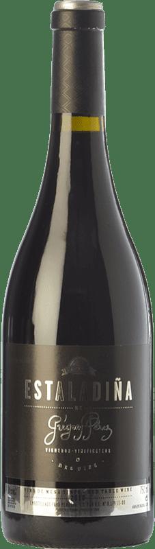 39,95 € Envío gratis | Vino tinto Mengoba Estaladiña Crianza D.O. Bierzo Castilla y León España Estaladiña Tinta Botella 75 cl