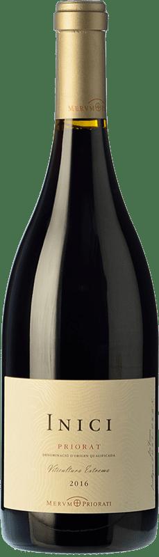 22,95 € Free Shipping | Red wine Merum Priorati Inici Crianza D.O.Ca. Priorat Catalonia Spain Syrah, Grenache, Cabernet Sauvignon, Carignan Bottle 75 cl