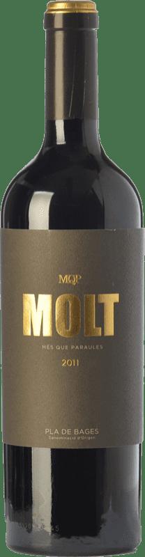31,95 € Envío gratis | Vino tinto Més Que Paraules Molt Crianza D.O. Pla de Bages Cataluña España Cabernet Sauvignon Botella 75 cl