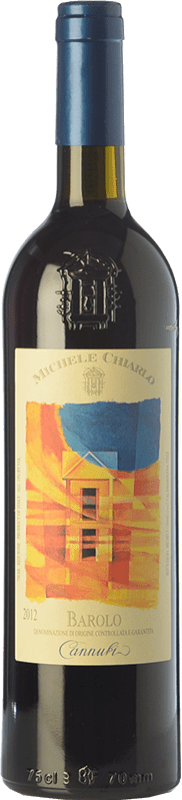 111,95 € Free Shipping | Red wine Michele Chiarlo Cannubi D.O.C.G. Barolo Piemonte Italy Nebbiolo Bottle 75 cl