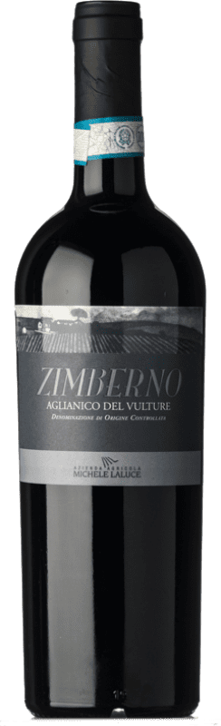 15,95 € | Red wine Michele Laluce Zimberno D.O.C. Aglianico del Vulture Basilicata Italy Aglianico Bottle 75 cl