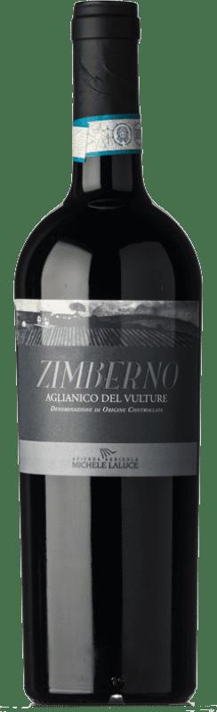 13,95 € | Red wine Michele Laluce Zimberno D.O.C. Aglianico del Vulture Basilicata Italy Aglianico Bottle 75 cl