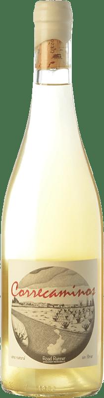 19,95 € Free Shipping | White wine Microbio Ismael Gozalo Correcaminos Spain Verdejo Bottle 75 cl