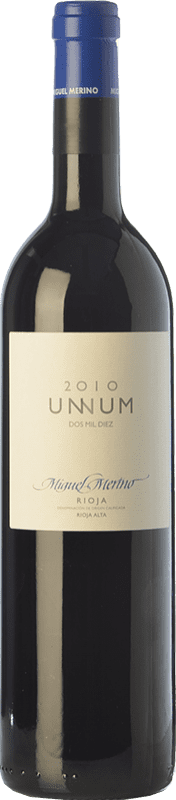 34,95 € Free Shipping | Red wine Miguel Merino Unnum Joven D.O.Ca. Rioja The Rioja Spain Tempranillo Bottle 75 cl