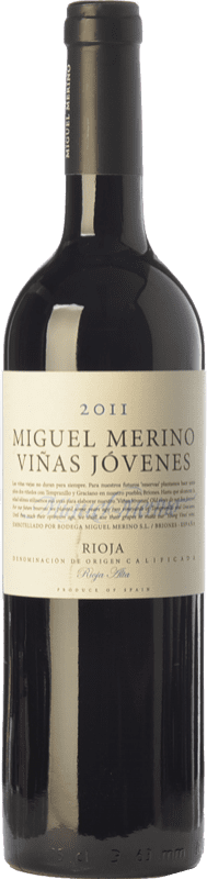 39,95 € Free Shipping | Red wine Miguel Merino Viñas Jóvenes Crianza D.O.Ca. Rioja The Rioja Spain Tempranillo, Graciano Bottle 75 cl