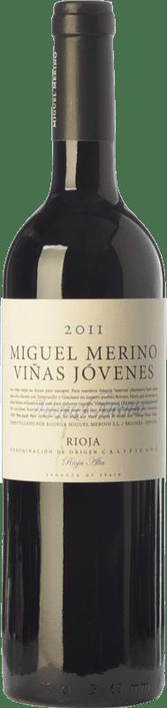 17,95 € | Red wine Miguel Merino Viñas Jóvenes Crianza D.O.Ca. Rioja The Rioja Spain Tempranillo, Graciano Bottle 75 cl