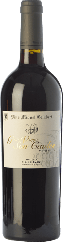 31,95 € | Red wine Miquel Gelabert Gran Vinya Son Caules Crianza D.O. Pla i Llevant Balearic Islands Spain Merlot, Syrah, Cabernet Sauvignon, Callet, Mantonegro Bottle 75 cl