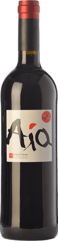 27,95 € Free Shipping | Red wine Miquel Oliver Aía Crianza D.O. Pla i Llevant Balearic Islands Spain Merlot Bottle 75 cl
